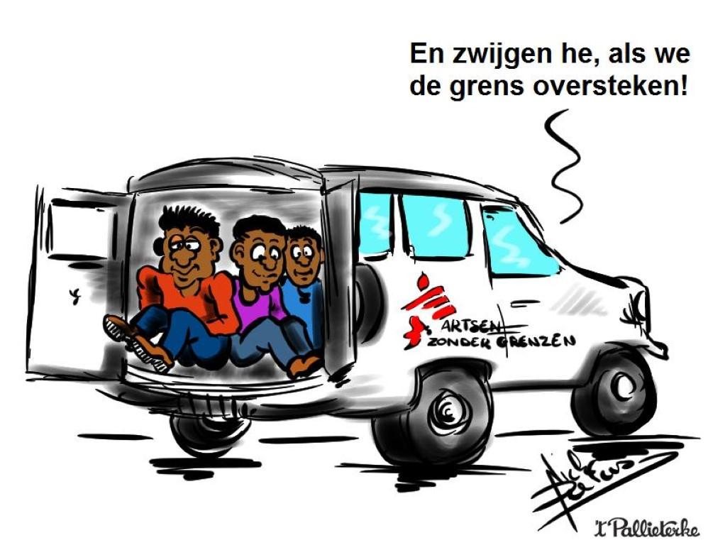 artsen zonder grenzen overlevingspakket