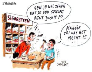 Maggie De Block overweegt om jongeren vanaf 16 de vrije keuze te geven om te roken.