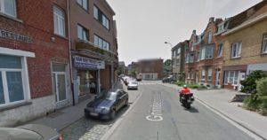 Het pand van Huishoudartikelen Van den Troost in Strombeek-Bever (Grimbergen) wordt de nieuwe moskee. (Beeld: Google Maps)