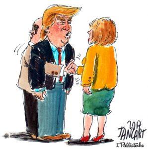 2017-12_10_Jancart - Ontmoeting tussen Trump en Merkel (Medium)